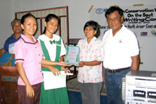 winner of the essay writing (english category)